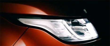 Land Rover releases first Range Rover Sport teaser footage | RR Evoque | Scoop.it