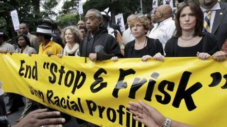 A New York protest rally against the controversial police stop-and-frisk ... - Press TV | Police Problems and Policy | Scoop.it