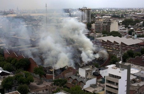 9 die in fire destroying Argentine bank archives | IT Canada | Scoop.it