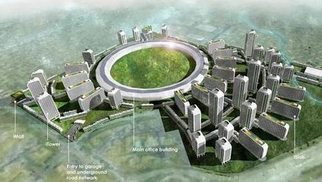 What Silicon Valley WOULD LOOK LIKE if Tech Companies Built Themselves Cities | Urbanisme | Scoop.it