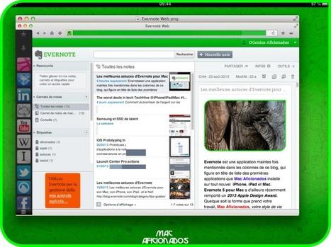 Les meilleures astuces d'Evernote pour Mac, iPhone et iPad | Evernote, gestion de l'information numérique | Scoop.it
