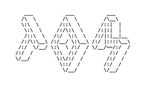 Tom Creighton on Twitter | ASCII Art | Scoop.it