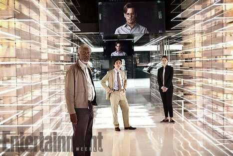 First Look at TRANSCENDENCE Starring Johnny Depp, Rebecca Hall, Cillian ... - Movies.ie | Global Brain | Scoop.it