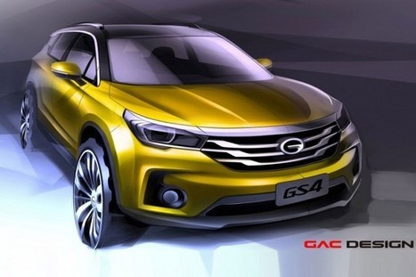 "Un SUV ""haute performance"" pour le Chinois GAC 
