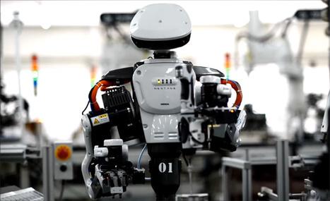 1 robot humanoïde vaut 3 humains. L'ouvrier du futur est là, en vidéo.   Economie Responsable et Consommation Collaborative   Scoop.it