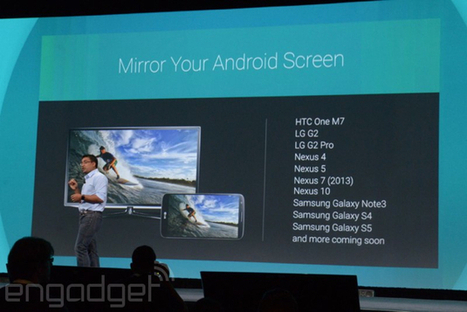 Chromecast can finally mirror your Android device's screen   social tv   Scoop.it