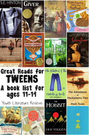 Great Reads for Tweens | Great Books, Great Resources | Scoop.it