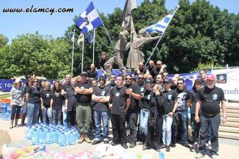 Golden Dawn - International Newsroom: A successful food drive by the National People's Front | The Indigenous Uprising of the British Isles | Scoop.it