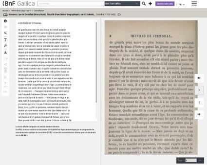Sur Gallica Labs, un nouveau visualiseur de documents | Gallica | La vie des BibliothèqueS | Scoop.it