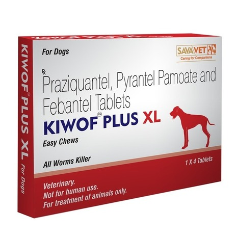 Kiwof Plus XL (Dog Dewormer for large and Extra large dogs) | Veterinary Medicines | Scoop.it