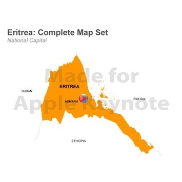 Editable Eritrea Map Template for Keynote | MAPS  Ideas, Examples, Resources | Scoop.it