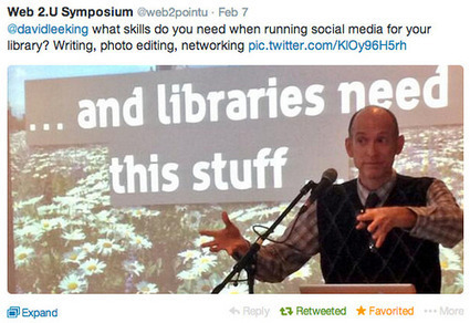 Social Media Skills for Librarians | David Lee King | Library Trends | Scoop.it