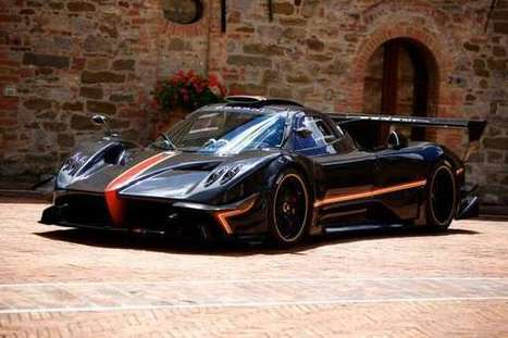 Celebratory Bookend Supercars | horacio pagani | Scoop.it
