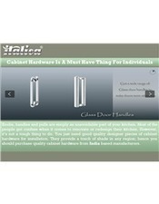 Cabinet Hardware Is A Must Have Thing For Individuals | Furniture Fittings Accessories | Scoop.it