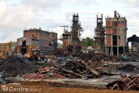Prémery : Que reste-t-il de Lambiotte, impressionnante friche industrielle en cours de démantèlement ? | Revue de presse du CAUE de la Nièvre | Scoop.it