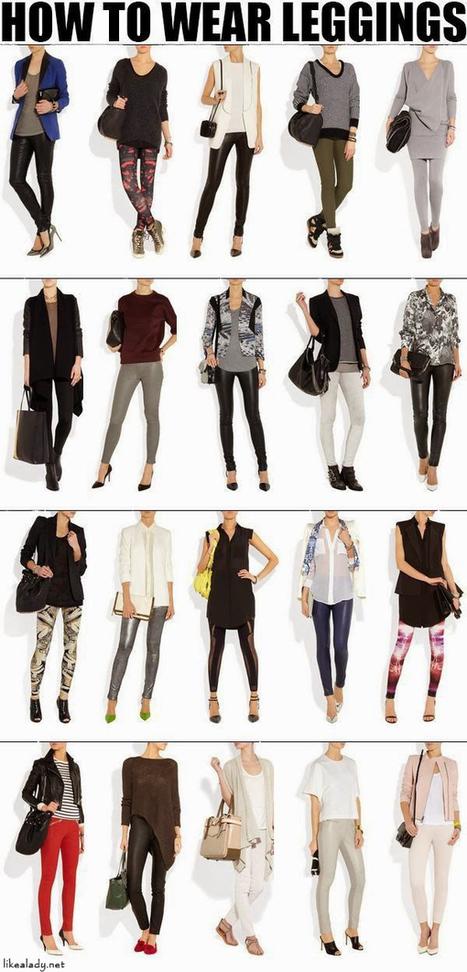 How to wear Leggings?   Fashion Jewelry   Scoop.it