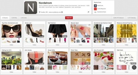 A Trending Tale: 3 Top Retailers on Pinterest - Business 2 Community | Everything Pinterest | Scoop.it