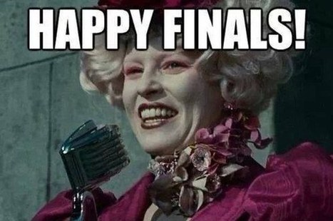 "30 Reasons ""The Hunger Games"" Is Actually Just Finals Week 