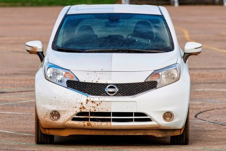 Nissan has invented a self cleaning hydrophobic paint car | Tracktec | Tracktec | Scoop.it
