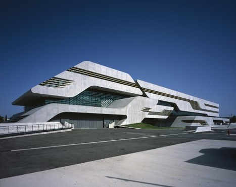 [Montpellier] Pierres Vives / Zaha Hadid Architects   The Architecture of the City   Scoop.it