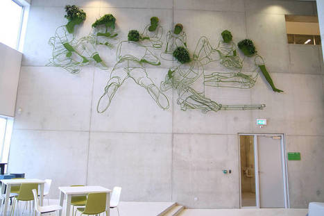 Large Scale Vegetal Sculpture by Frank Plant | Landart, art environnemental | Scoop.it