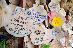 [Eng] Des messages d'espoir pour les sinitrés sur des coquilles à la gare d'Iwate | The Mainichi Daily News | Japon : séisme, tsunami & conséquences | Scoop.it