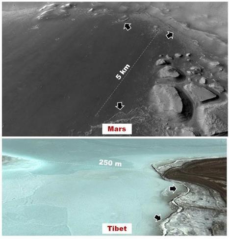 Marte: il paleo-lago di Noctis Labyrinthus potrebbe aver ospitato la vita | Space & Astronony | Scoop.it