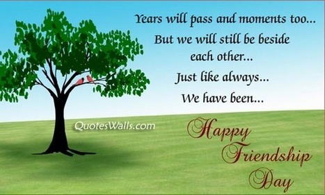 Friendship Day Wishes SMS 140 Words | Quotes Wallpapers | Scoop.it
