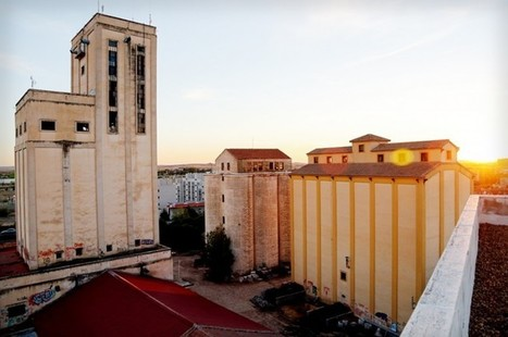 Spain: disused grain silos at Senpa in Ciudad Real | Grain Elevators | Scoop.it