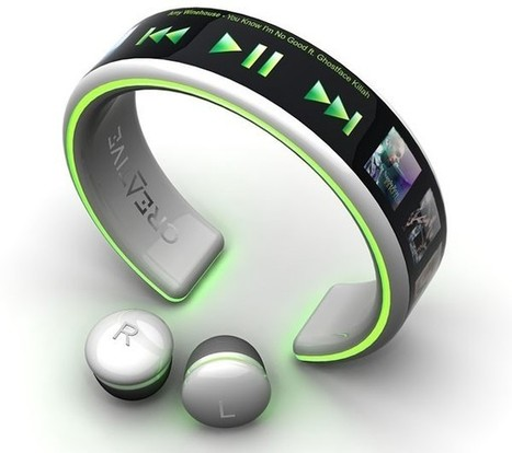 Latest wrist MP3 player It charges on ur pulse beats   Cloud Based Learning   Scoop.it