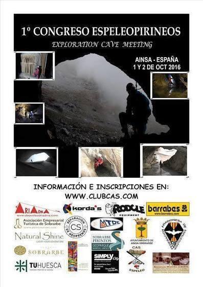 Congrès de spéléologues à Ainsa les 1er et 2 octobre - CAS Club Atletico Sobrarbe | Vallée d'Aure - Pyrénées | Scoop.it