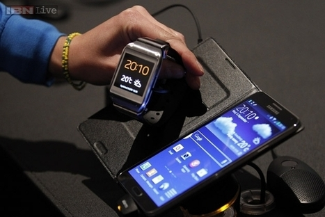 Samsung Galaxy Gear smartwatch, Note 3 coming to India on September 25 - IBNLive | Samsung Project | Scoop.it