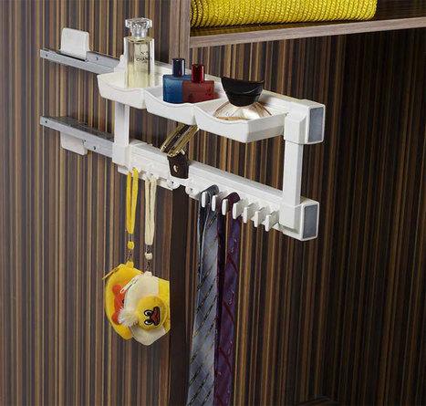 Klasse-Silent-Tie-Utility-Rack   Modular-Kitchen   Scoop.it