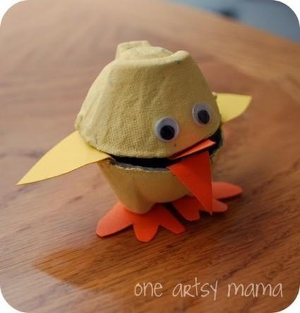 17 Cool Easter Kids' Crafts | Manualidades para niños | Scoop.it