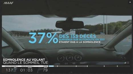 Somnolence au volant, quand le sommeil tue - Un webdocumentaire produit par MAAF prévention | Web documentaire de Païpaï | Scoop.it
