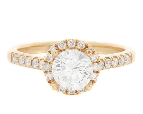 VR1043 Rose Gold Halo Diamond Ring | Bespoke Diamonds | Engagement Rings Dublin | Scoop.it