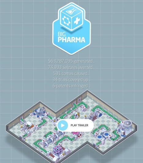 Run your own virtual pharmaceutical company with new video game – ethical decision-making optional | GAMIFICATION & SERIOUS GAMES IN HEALTH by PHARMAGEEK | Scoop.it