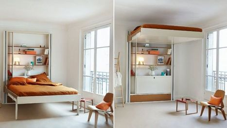 Elevator Beds Save Space, Look Cool - ABC News | bedsonline | Scoop.it
