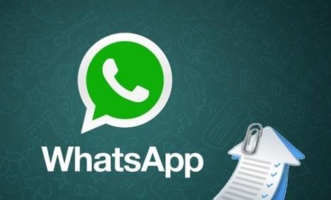 Cómo enviar por WhatsApp archivos de gran tamaño | Sitios y herramientas de interés general | Scoop.it