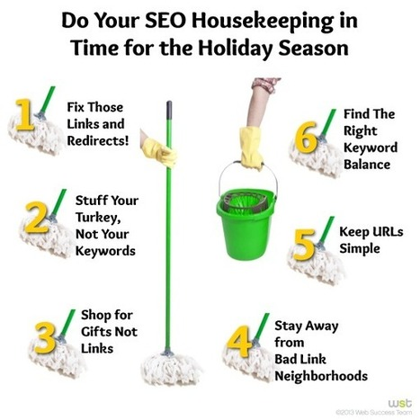 Do Your SEO Housekeeping in Time for the Holiday Season - Business 2 Community | Website Search Engine Optimization (SEO) | Scoop.it