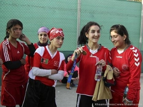 Afghanistan women's football team defeats Kyrgyzstan | Peace Cord | Scoop.it