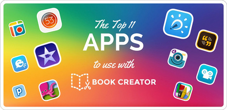 The top 11 apps to use with Book Creator - Book Creator app | Blog | Serious Play | Scoop.it