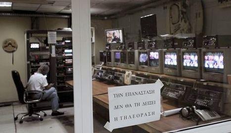 Grèce: la télé publique renaît en NERIT | DocPresseESJ | Scoop.it