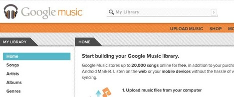Google Music Offers 70-30 Revenue Sharing to Indie Musicians | Google Sphere | Scoop.it
