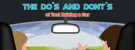 Infographic - Do and don't of test driving a car - AutoPortal | Autoportal India | Scoop.it