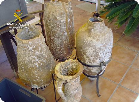 Recuperan cuatro ánforas romanas y un lingote de plomo en un domicilio de Cabo de Palos | LVDVS CHIRONIS 3.0 | Scoop.it