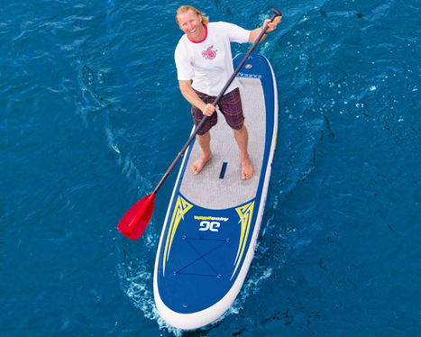 Aquaglide inflatable, take anywhere Paddle Board | Gadgets for Fitness | Scoop.it