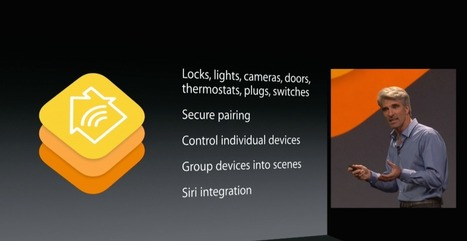 Apple announces HomeKit API for iOS, will serve as a central hub ... | Smart Homes and the #IoT | Scoop.it