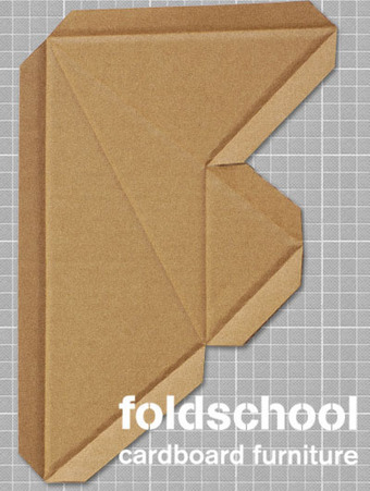 foldschool - cardboard furniture | Paper Horizon | Scoop.it