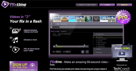 FlixTime - Video Slideshows made easy! | Moodle and Web 2.0 | Scoop.it